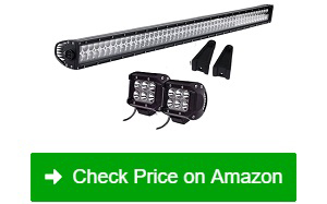 "QUAKEWORLD 52"" 300W LED Light Bar 2 Driving Fog Lights"