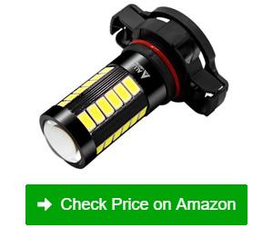 alla 2504 psx24w led fog light bulbs
