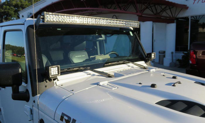 best jeep light bar
