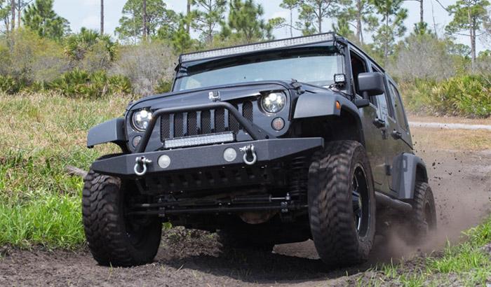 jeep jk off road lights