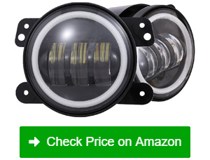 vouke led fog lights with halo ring