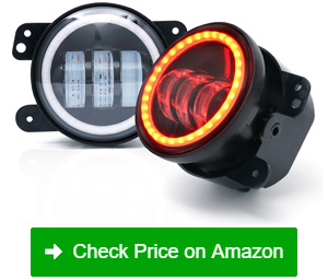 xprite 4 inch led fog lights