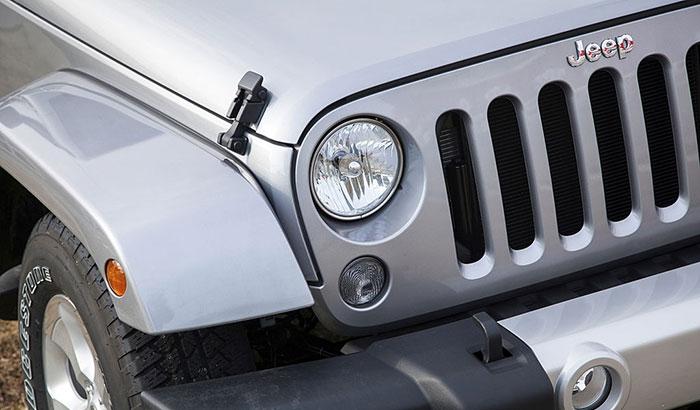 hood latch for jeep wrangler