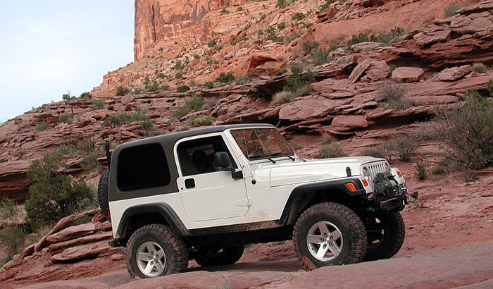 jeep models with trail rated badge
