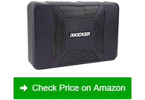 kicker 150w hideaway audio subwoofer