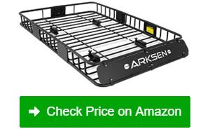 arksen universal roof rack cargo