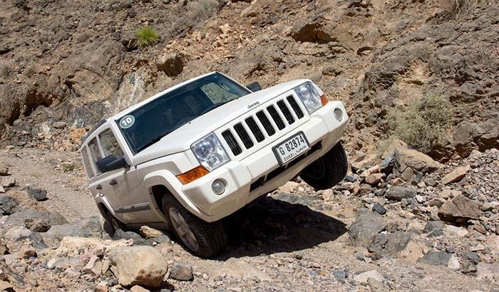 best shocks for jeep commander