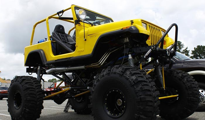 installing a lift kit on a jeep