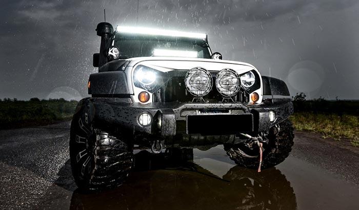 jeep wrangler water leak when it rains