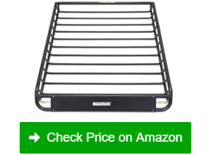 maxxhaul 70115 steel roof rack