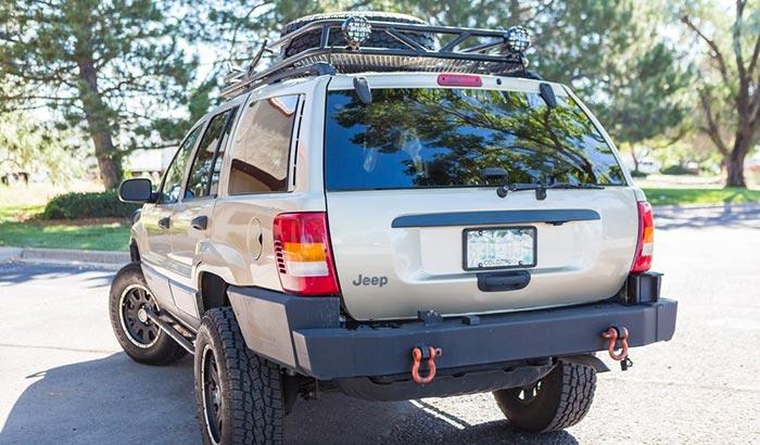 roof rack cross bars for jeep grand cherokee